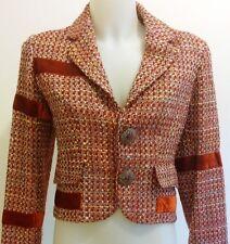 Abbigliamento MODA donna GIUBBINO giacca colore rosso offerta OCCASIONE