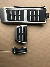 Original Audi A7 S7 RS7 A6 S6 RS6 4G C7 S- Line Pedalen Pedal Kappen  chrom Alu