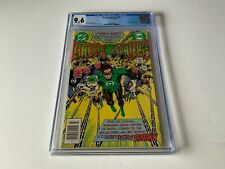GREEN LANTERN 150 CGC 9.6 WHITE PAGES ANNIVERSARY ISSUE DC COMICS 1982