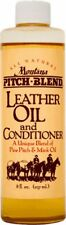 Montana Pitch Blend Leather Oil & Conditioner, 8 oz Bottle, USA Product!