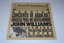 Rodrigo: Concierto De Aranjuez For Guitar & Orchestra~John Williams~FAST SHIP