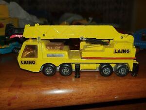Matchbox Super Kings K113 Crane 1974 Lesney Product