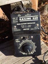 Vintage Railine 350 HO Power Supply Transformer Model Rectifier Corporation