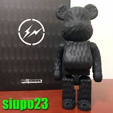 Medicom 400% Bearbrick ~ Fragment Design Wood Be@rbrick Carved Wooden