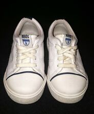 Boys toddler white navy Keds sneakers shoes size 6.5 VGUC!