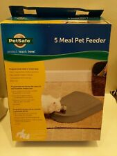 Petsafe Automatic Pet Feeder Programmable 5 Meal Dog Cat Food Dispenser