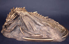 Hobbit King Under the Mountain Smaug Model Statue Resin Bronze In Color