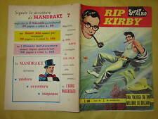 RIP KIRBY SUPPLEMENTO AL SUPER ALBO N°123 FEBBRAIO 1965 18° AVVENTURA