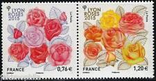Y&T 4957-4958 Dyptique Les Roses de 2015  NEUF **