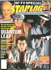 Starlog Magazine #153 Quantum Leap Tv Series Cover 1990 New Unread Near Mint