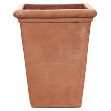 55cm Terracini Camelia Square/Planter/Garden Plant Pot/Tub/Tapered/Terracotta
