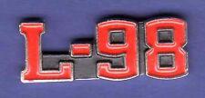 CORVETTE L-98 HAT PIN LAPEL PIN TIE TAC ENAMEL BADGE #0944