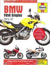 1994-2007 Bmw F650 Haynes Repair Service Workshop Shop Manual Book Guide 8662