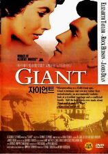 Giant DVD (1956) - Elizabeth Taylor, Rock Hudson, James Dean