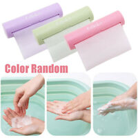 Disposable Portable Travel Outdoor Scented Soap Paper Hand Washing Soap Flakes.