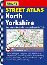 North Yorkshire Map Street Philips Spiral Street Atlas - Yorkshire North