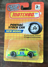 Vtg 1990 Matchbox - Pontiac Stock Car - 1:64 NOC