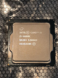 Intel Core i5 6600K 3.50 GHz Quad-Core Processor unlocked