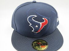 Houston Texans Blue Sideline New Era 59Fifty NFL Fitted Hat Cap 7 1/2