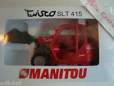 MINIATURA MANITOU TWISCO SLT 415 UN SECCHIO TELESCOPICO JOAL 1/25 IN SCATOLA