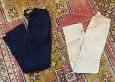 Justice Girls Straight Leg Uniform Pants Lot Of 2 Khaki Navy size 10