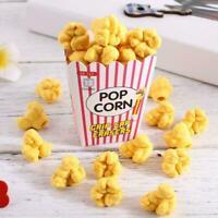 12pcs/Box Popcorn Box Eraser Children Kids School Stationery Student Prizes T9Y0