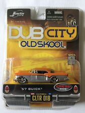 Jada Toys Dub City Old Skool '57 1957 Buick Orange/Silver Die-Cast 1/64 Scale