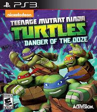 ~ TEENAGE MUTANT NINJA TURTLES ~ DANGER OF THE OOZE ~PS3 Sony PlayStation 3 2014