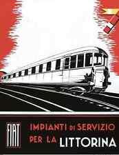 FERROVIE FIAT BREDA Alb48 Automotrice Littorina 1933 Imp. Servizio Manual DVD