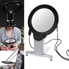 Hands 6X Large Magnifying Glass Light Led Lamp Giant Magnifier Reading AID