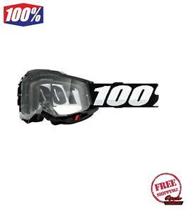 100% ACCURI UTV ATV SAND OTG GOGGLE BLACK  PHOTOCHROMIC LENS