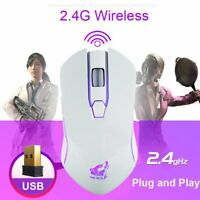 X9 2.4G Wireless LED Backlight USB Optical Rechargeable Gaming Pro Gamer Mouse