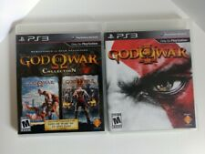 God of War collection and god of War III Playstation 3 PS3