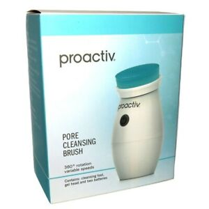 Proactiv Pore Cleansing Brush with Gel Head Proactive Blemish Acne USA NIB