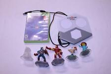 Disney Infinity 2.0 XBOX 360 Game w/Iron Man Captain America Phineas & Ferb