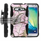 Samsung Core Prime Black shockproof Armor Belt Clip Holster Hard Cover Case