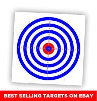 50 x TARGETS Airgun Rifle Pistol 22 177 Target Shooting Air Gun 14cm