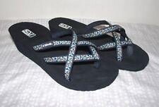 Teva Womens Size 8 Mush Mandalyn Wedge Heel Strappy Sandals EUC