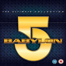 BABYLON 5 -  THE COMPLETE UNIVERSE COLLECTION - SERIES 1 2 3 4 & 5 + LOST TALES