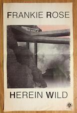 Music Poster Promo Frankie Rose - Herein Wild