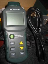 TureRMS Circuit Analyzer RCD GFCI Socket Test Wiring Identify MS5908 Vs Suretest