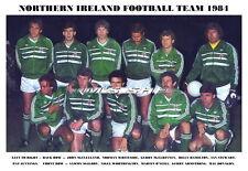 NORTHERN IRELAND TEAM PRINT 1984 (O'NEILL/McILROY/DONAGHY)