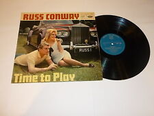 RUSS CONWAY - Time To Play - 1966 UK MFP 12-track mono vinyl LP