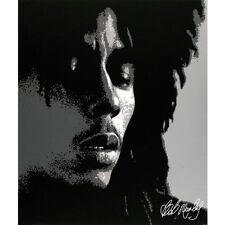 Bob Marley - Dreads Medium Canvas Print