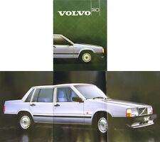 Volvo 740 Saloon GL GLE GLT 1984-85 Original UK Sales Brochure Pub. No. 1143-85