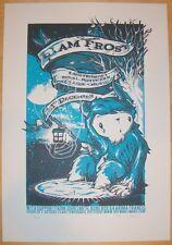2006 Liam Frost - Manchester Silkscreen Concert Poster s/n by Drew Millward
