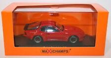 Voitures, camions et fourgons miniatures rouge MINICHAMPS pour Porsche