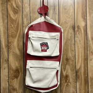 Vintage 70's Nascar Winston Cup Grand National Drivers Travel Suit Luggage Bag