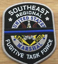 "US Marshals Service-SE Regional Fug TF ""mourning"" FC Genuine *Kokopelli Patch*"