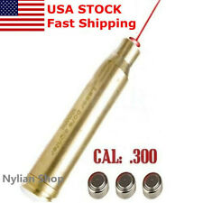 US CAL 300 WIN MAG Cartridge Boresighter Red Dot Laser Bore Sight Sighter Scope